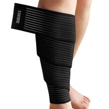 Set of 2 Leg Guard Outdoors Safety Protector Calf Leg Support Band Twine Black