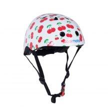 Kiddimoto Children's Bike / Scooter / Skateboarding Helmet - Cherry Design