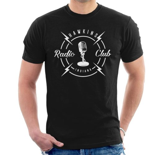 Hawkins Radio Club Indiana Stranger Things Men's T-Shirt