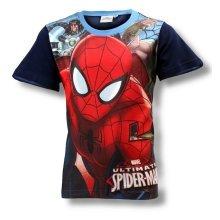 Spiderman T Shirt - Navy