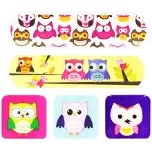 Cute Cartoon First Aid Bandages Bandaging Supplies Band Aids- Owl