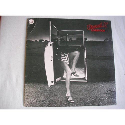 BRAND X - Livestock UK LP 1977 ex+/ex minus