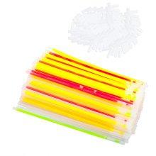 Trixes 100 Party Glow Sticks | Neon Glow Stick Set