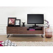 TV Stand - Glass top - Cabinet - Entertainment Unit -  - ELVAS