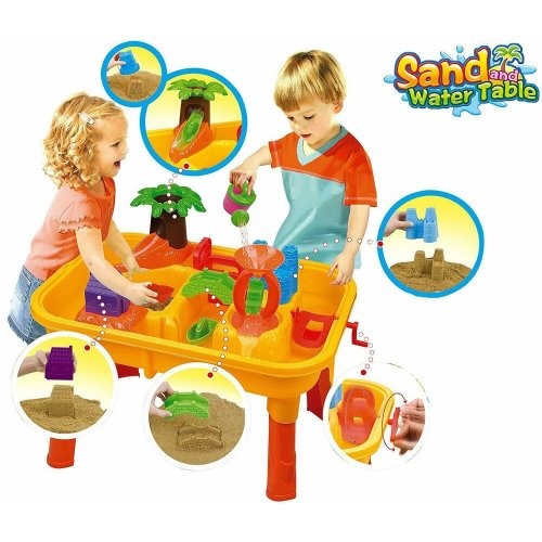 Children's Sand and Water Table - 25 Pieces