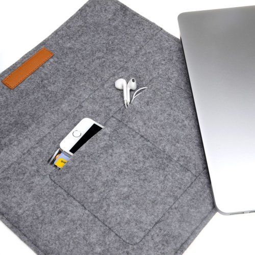 competitive price 519d2 8a6b0 Inateck 13-13.3 Inch MacBook Air/ Pro Retina/ 12.9 Inch iPad Cover Grey