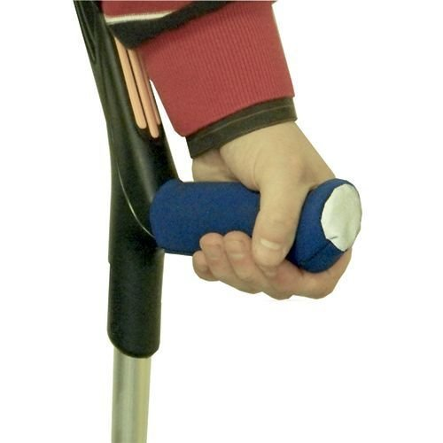 NEOPRENE CRUTCH HANDLE COVERS - CRUTCH COMFORT GRIPS - DISABILITY WALKING AIDS