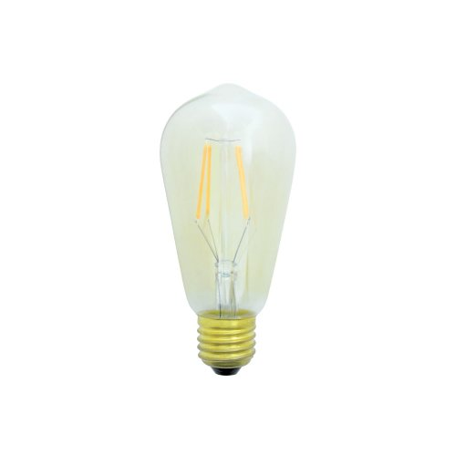 ST58 Filament LED Lamp with Tinted Glass