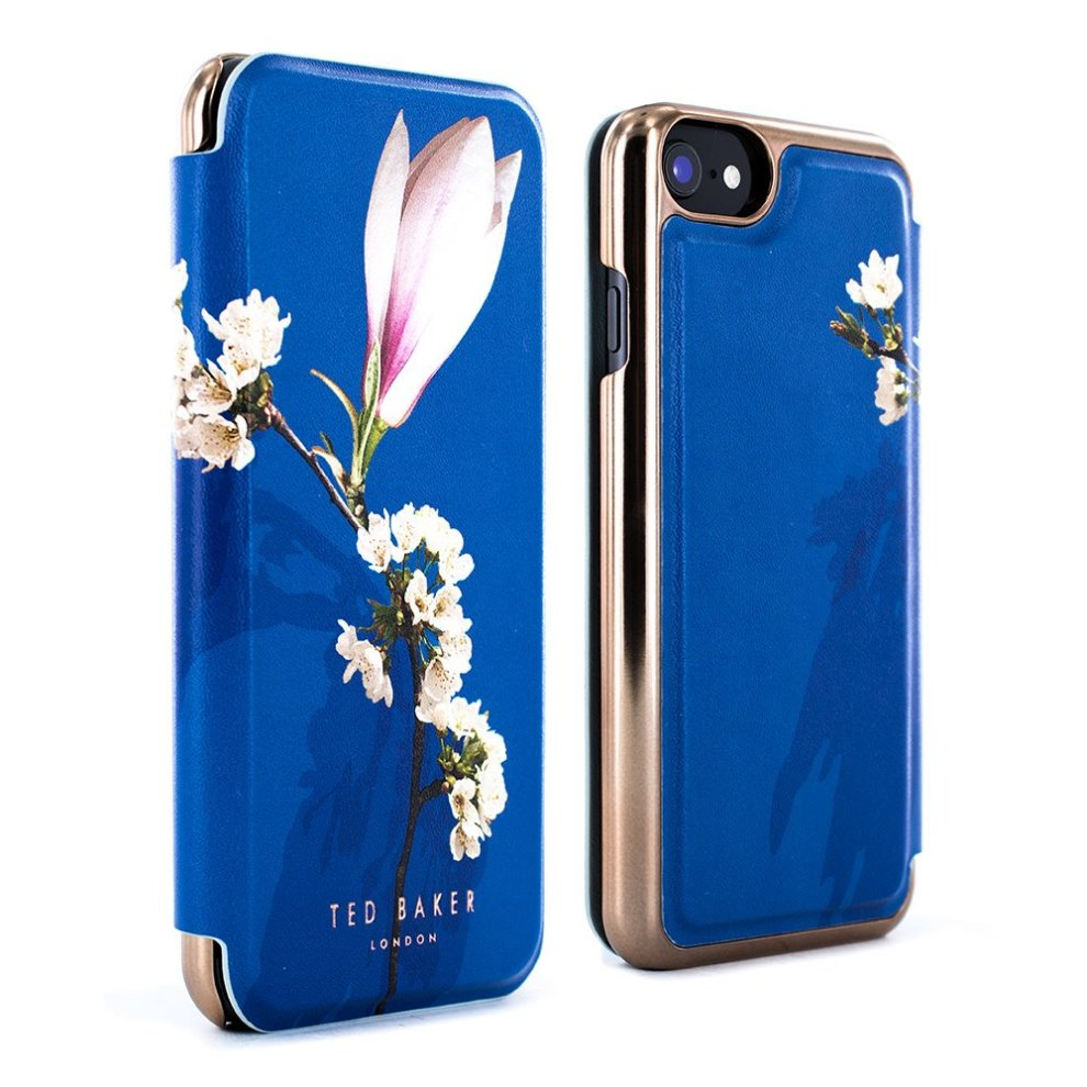 0432aafba Ted Baker Official BRYONY Fashionable Highly Protective Premium Mirror  Folio Case for iPhone 6   6S - HARMONY MINERAL on OnBuy