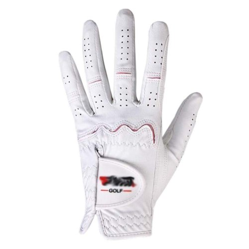 Summer Sun-proof Golf Gloves Women Protection Non-slip,White&Pink(#20)