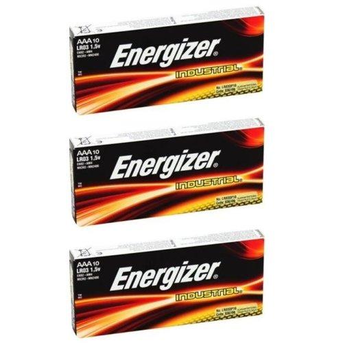 Energizer AAA Industrial Battery 30 Alkaline Expiry 2025