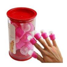 JOVANA 30 Pcs Wearable Nail Soaker Acrylic Polish Remover Tool