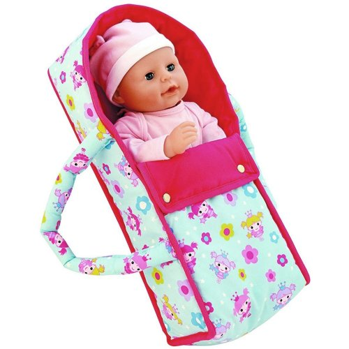 Dolls World Deluxe Baby Doll Carrier with Carry Handles