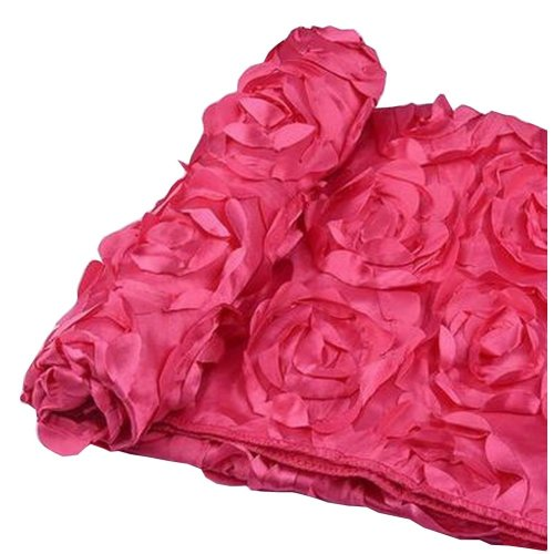 Newborn Photography Props Baby Photography Rose Mat [Rose Red]