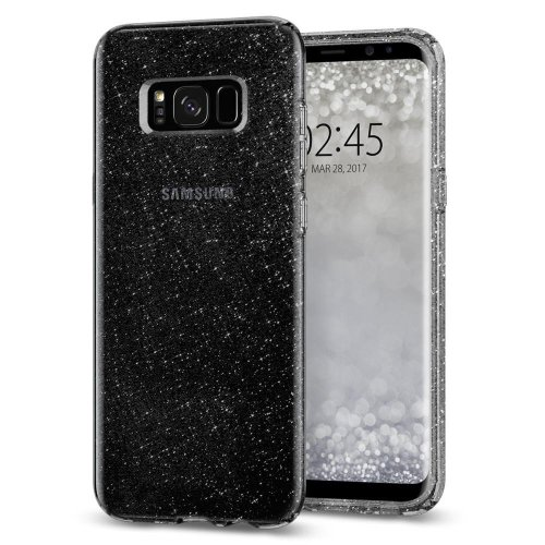 pretty nice 5ecd4 89aed Spigen Samsung Galaxy S8 Plus Case, [Liquid Crystal] Glitter Galaxy S8 Plus  Case with Slim Protection and Premium Clarity for Galaxy S8 Plus (2017)...