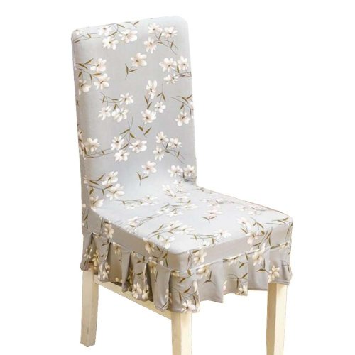 [Flowers-06] Stretch Dining Chair Slipcover Chair Cover Chair Protector