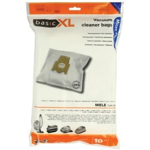Pack of 10 Vacuum Cleaner Bags for Miele BLUE Code
