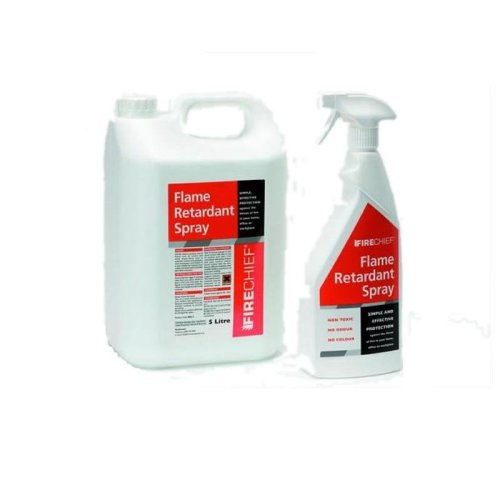 5 Litre Flame Retardant Refill Bottle + 750ml Spay Container