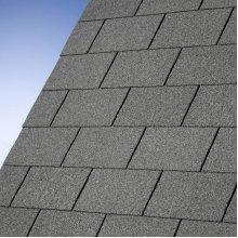IKO Armourglass Square Butt Roof Felt Shingles, Slate Grey 3m2