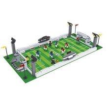 Ausini Football Field 25690 Sport Soccer Game with Action Figures Building Bricks Educational Blocks Set Compatible Bricks, 381 Piece