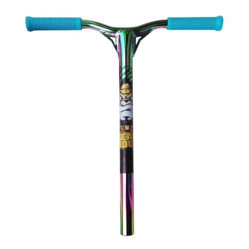 Push Scooter Handle Bars Team Dogz Pro X Petrol Rainbow