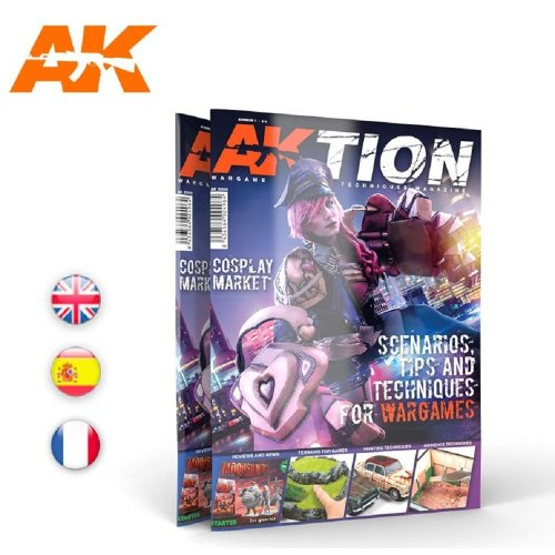 AKBOOK6300 - AK Interactive Magazine - Aktion Issue 1
