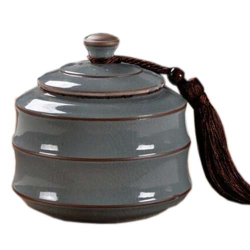 Chinese Tea Caddy/Snack Pot Tea Coffee Storage Jar Tea Container 800 ML