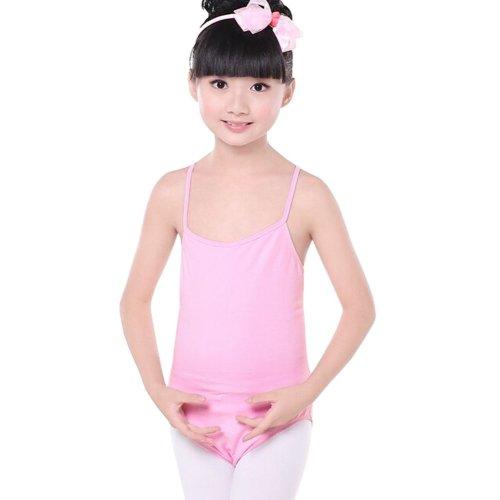 dc13ac293 PINK Sun-Top Plain Ballet Dress Lycra Cotton Child Ballet Leotard ...