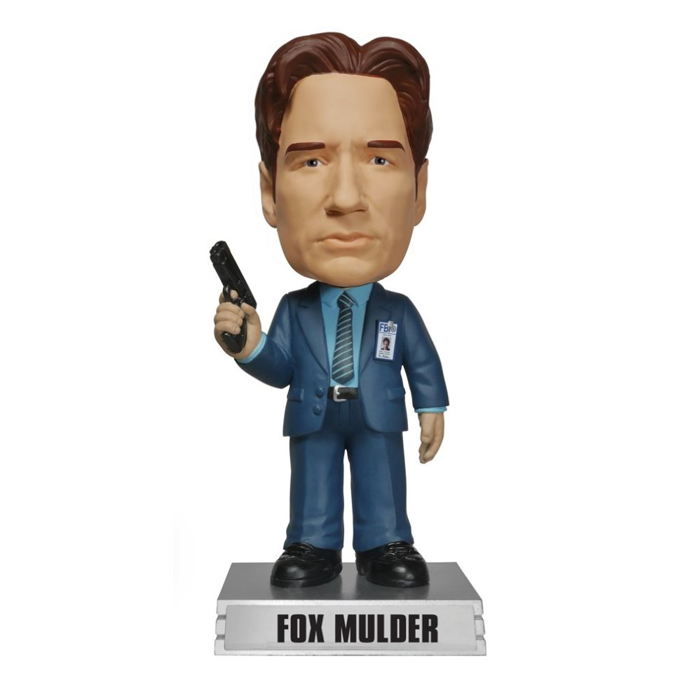 The X-Files Funko Wacky Wobbler Fox Mulder