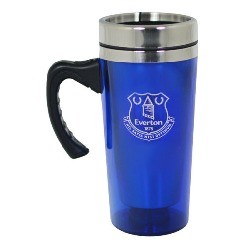 Everton Travel Mug - Aluminium Official Football Team Club Gift Fc -  travel mug aluminium official football everton team club gift fc