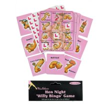 Hen Night Willy Bingo Game