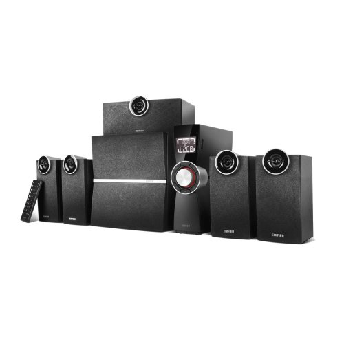 Edifier C6XD 5.1channels 80W Black speaker set