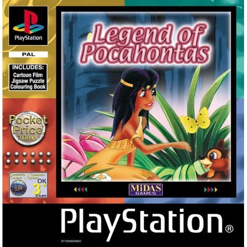 Legend of Pocahontas (PS)