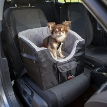 Trixie Car Seat Dimensions: 41 × 39 × 42cm 13176 Color: Black/grey - Dogs Tour -  car seat dogs tour rigid sided small travel bed trixie new