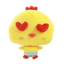 Lovely Chick Cartoon Warm Hands Pillow Soft Plush Doll Toy Throw Pillows Cushion, D
