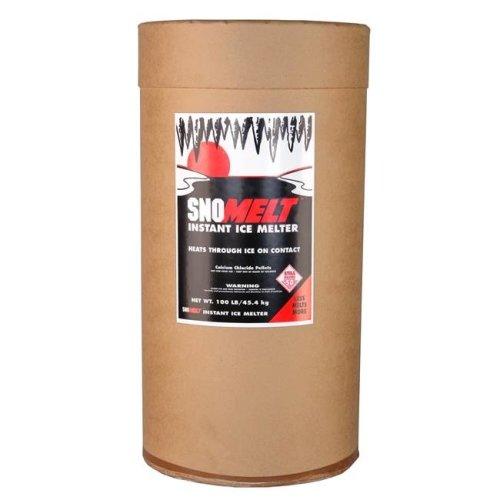 SnoMelt S100DS 100 lbs Calcium Chloride Pellet Drum