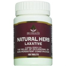 Bio Health Cassilax - Natural Herb Laxative 60 Tablets