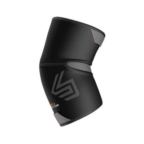 Shock Doctor Elbow Compression Sleeve With Extended Coverage - Black, X-large -