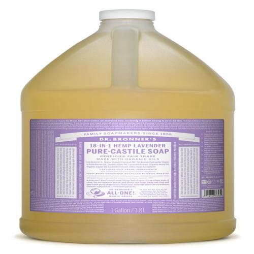 Dr Bronner Lavender Pure-castile Liquid Soap  3.79 Litre