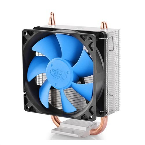 Deepcool Ice Blade 100 Heatsink & Fan, Intel & AMD Sockets, Fluid-dynamic Bearing, Blue Fans, Core Touch Tech