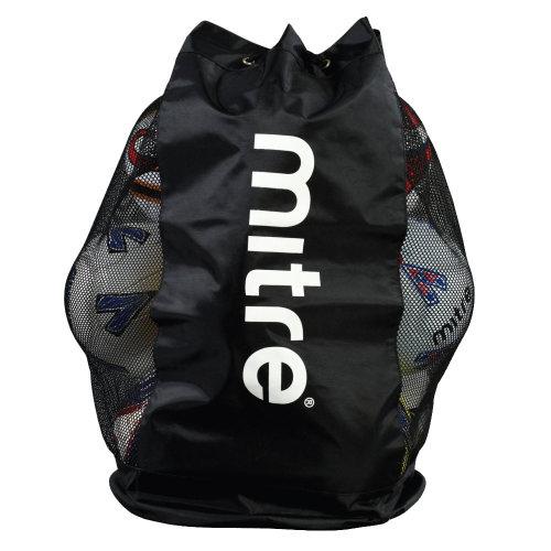MITRE Nylon/Mesh Football Soccer 12 Ball Sack Carrier Bag