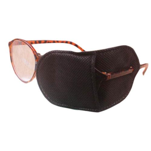 12PCS Amblyopia Eye Mask For Glasses Strabismus Lazy Eye Patches Large-Black