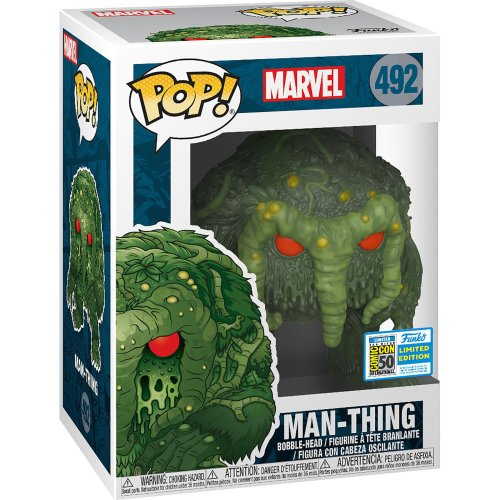 Funko Pop! Vinyl SDCC Marvel Comics Man-Thing