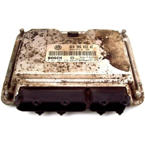 Seat Ibiza 1.4 Manual Bosch Benzin Motronic Engine ECU 0261207228 6K0906032AC