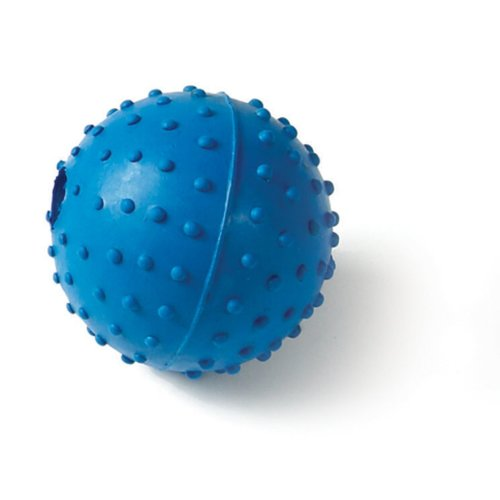 Classic Rubber Pimple Ball With Bell 60mm (Pack of 12)