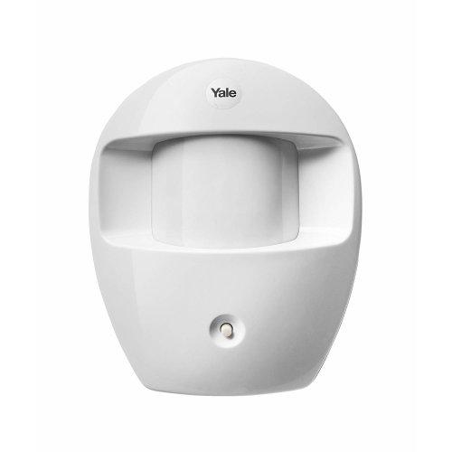 Yale Easy Fit Wall-Mounted PIR Sensor - White | Wireless PIR Motion Sensor