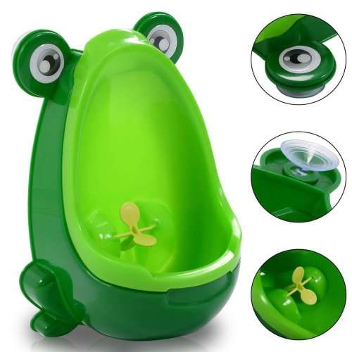Baby Kids Toilet Urinal Potty Boy Bathroom Frog