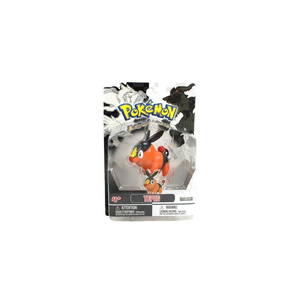 ccf02406 Jakks Pacific Pokemon Black and White Figure Single Pack Volume 1 - Tepig. >