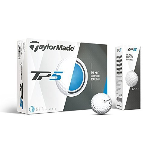 TaylorMade 2017 TP5 Golf Balls Pack of 12