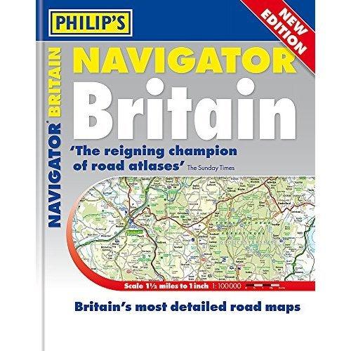 Philip's 2019 Essential Navigator Britain Flexi (Philips Road Atlas)